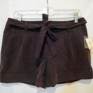 Elle Gray Trouser Shorts - NWT - 4
